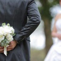 結婚写真!一生幸せにします!