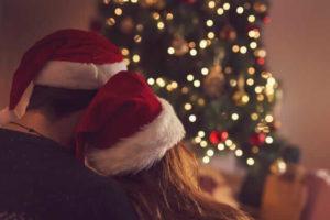 クリスマツリのカップル